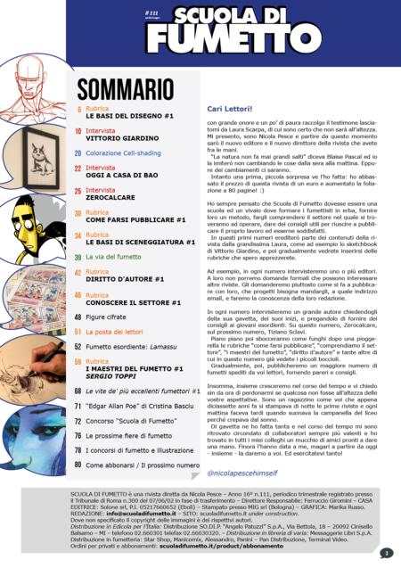 Pagina 03 di Scuola di Fumetto 111